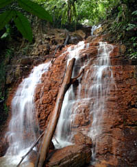 Kenyir Water fall